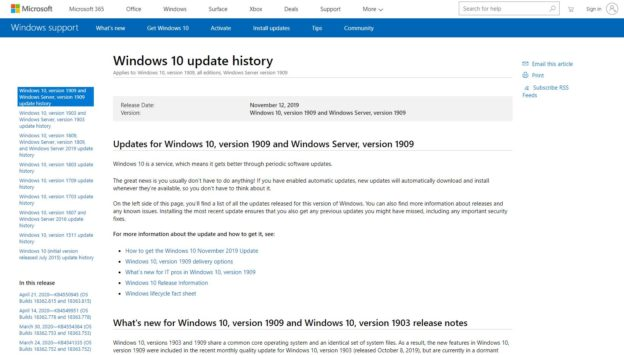 微軟釋出 Windows 10 KB4550945 更新修補程式,大幅修復升級問題