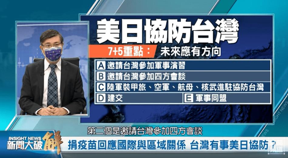 美日協防台灣體系成形?「台灣」是張王牌,習近平怎麼打?美中有可能和平共處?拜登政府示弱?