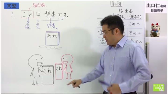 大家的日本語第02課-文法解說(みんなの日本語) これ、それ、あれ|出口日語