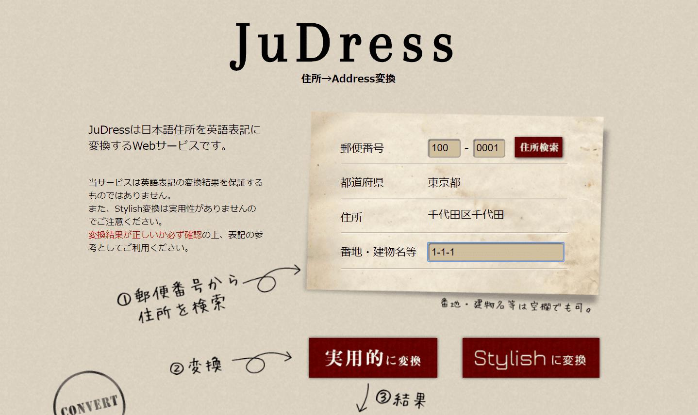 把日本地址翻譯成英文
