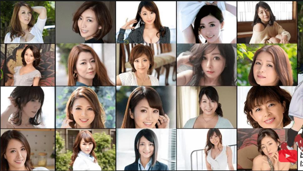 日本AV性感女優 精選介紹20名40代美熟女 (最新片名、番號)