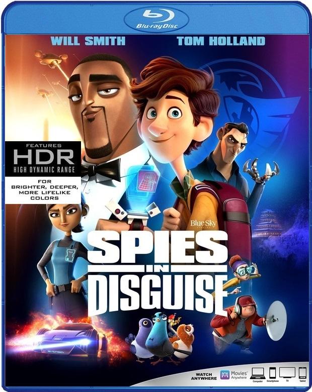 【變身特務】Spies in Disguise--->歡樂登場